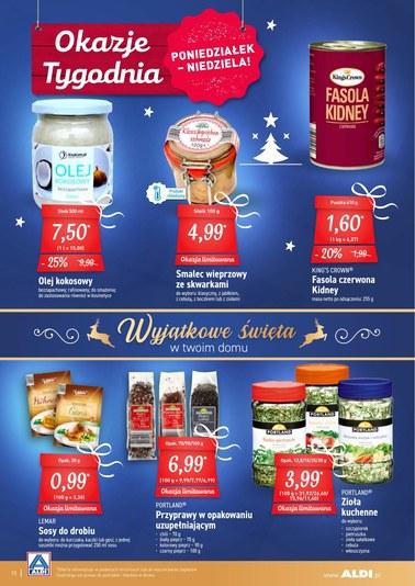Gazetka promocyjna Aldi, ważna od 17.12.2018 do 22.12.2018.