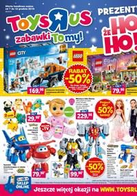 "Gazetka promocyjna Toys""R""Us - Prezenty, że Ho Ho! - ważna do 12-12-2018"