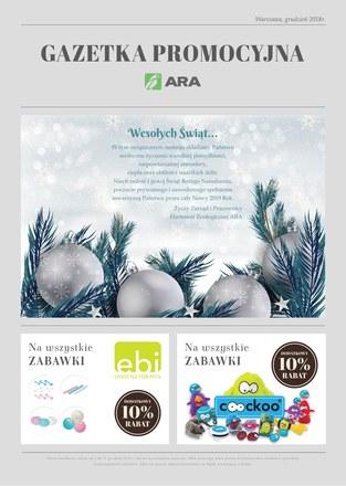 Gazetka promocyjna Ara, ważna od 01.12.2018 do 31.12.2018.