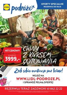 Gazetka promocyjna Lidl - Chiny z kursem gotowania