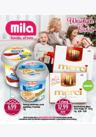 Gazetka promocyjna MILA, ważna od 11.12.2018 do 24.12.2018.