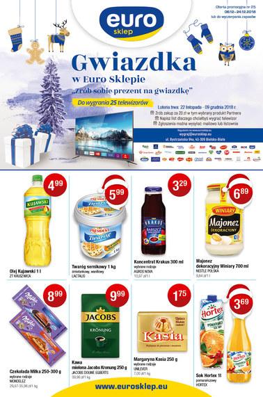 Gazetka promocyjna Euro Sklep, ważna od 06.12.2018 do 24.12.2018.