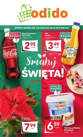 Gazetka promocyjna Odido, ważna od 07.12.2018 do 20.12.2018.