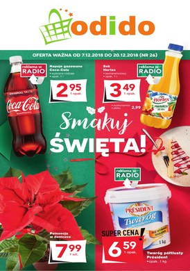 Gazetka promocyjna Odido - Smakuj Święta