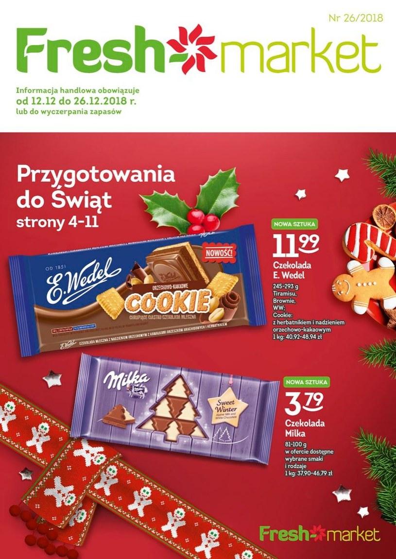 Gazetka promocyjna Freshmarket - ważna od 12. 12. 2018 do 26. 12. 2018