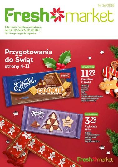 Gazetka promocyjna Freshmarket, ważna od 12.12.2018 do 26.12.2018.