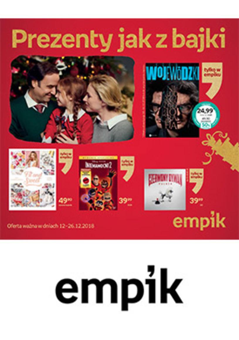 Gazetka promocyjna EMPiK - ważna od 12. 12. 2018 do 26. 12. 2018