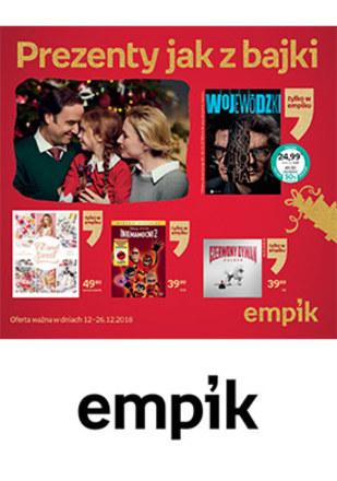 Gazetka promocyjna EMPiK, ważna od 12.12.2018 do 26.12.2018.