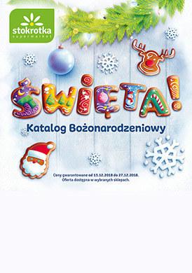 Gazetka promocyjna Stokrotka - Święta!