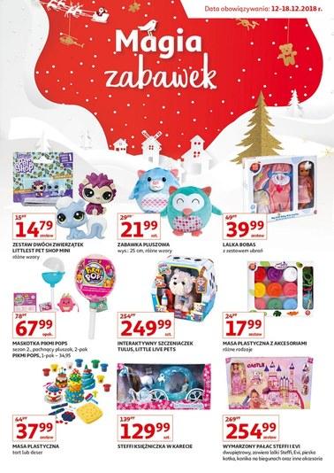 Gazetka promocyjna Auchan, ważna od 12.12.2018 do 18.12.2018.