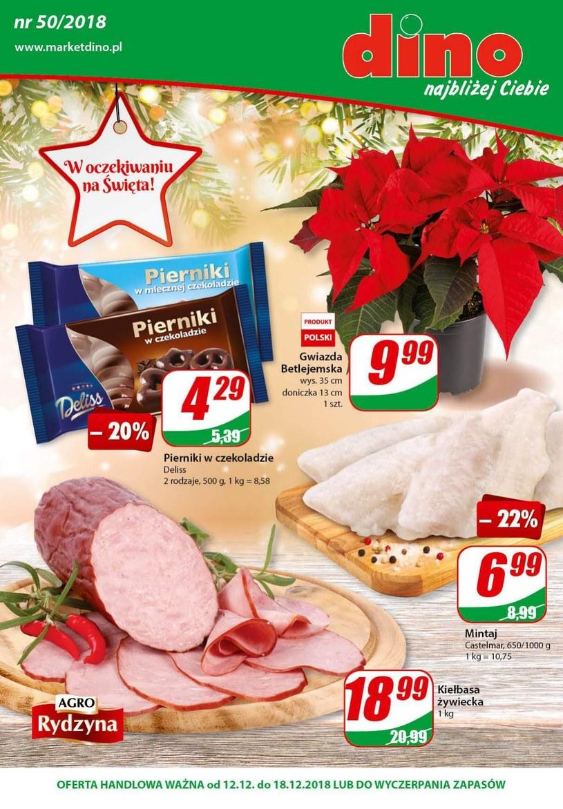 Gazetka promocyjna Dino - ważna od 12. 12. 2018 do 18. 12. 2018