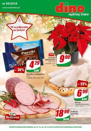 Gazetka promocyjna Dino, ważna od 12.12.2018 do 18.12.2018.