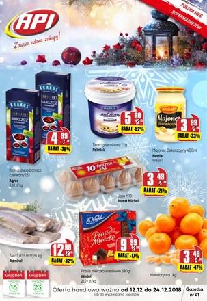 Gazetka promocyjna Api Market, ważna od 12.12.2018 do 24.12.2018.