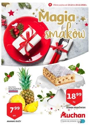 Gazetka promocyjna Auchan, ważna od 13.12.2018 do 23.12.2018.