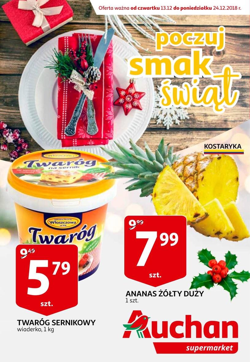 Gazetka promocyjna Auchan - ważna od 13. 12. 2018 do 23. 12. 2018