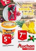 Gazetka promocyjna Auchan - Poczuj smak świąt  - ważna do 23-12-2018