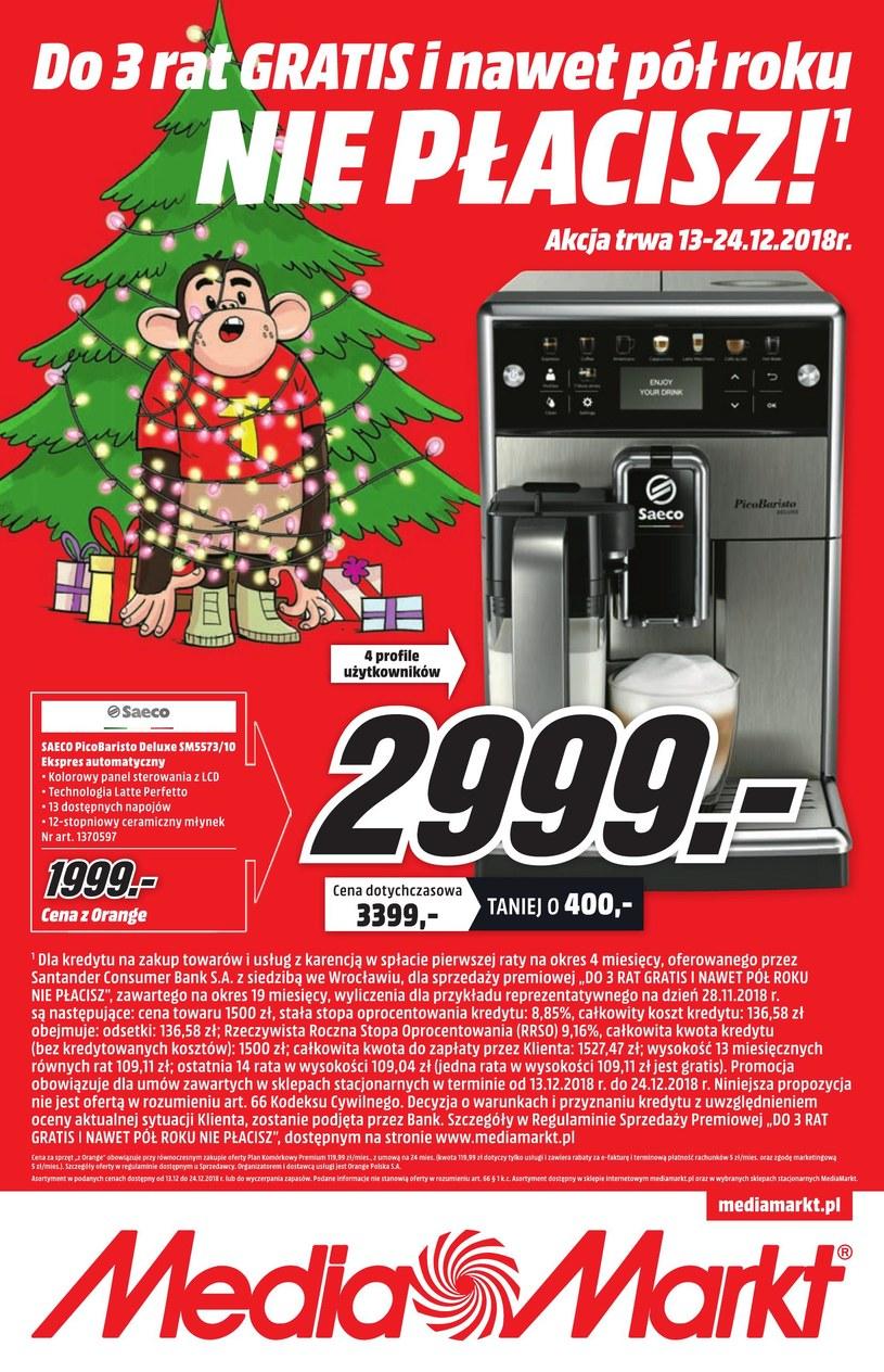 Gazetka promocyjna Media Markt - ważna od 13. 12. 2018 do 24. 12. 2018