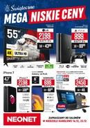 Gazetka promocyjna Neonet - Świąteczne mega niskie ceny