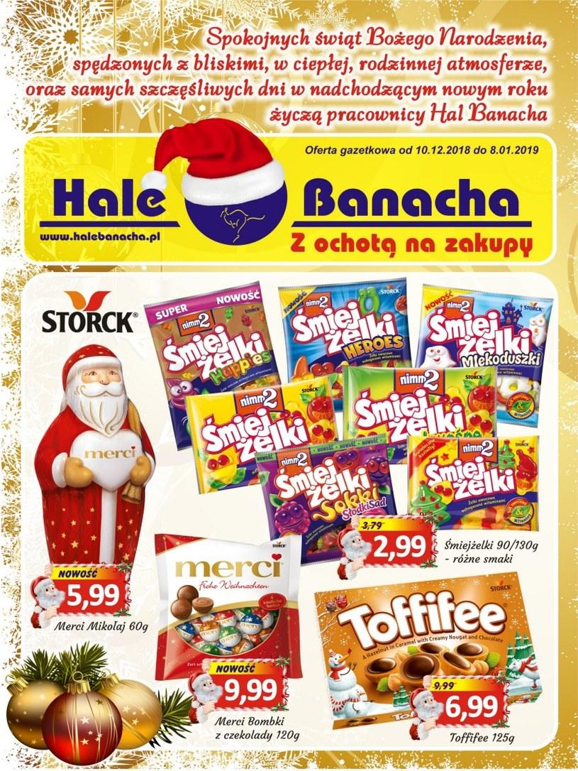 Hala Banacha: 1 gazetka