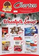 Gazetka promocyjna Chorten - Wesołych Świąt