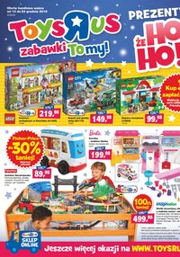 "Gazetka promocyjna Toys""R""Us - Prezenty, że ho ho - ważna do 24-12-2018"