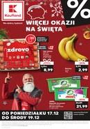 Gazetka promocyjna Kaufland - Więcej okazji na Święta