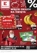 Gazetka promocyjna Kaufland - Więcej okazji na Święta - ważna do 19-12-2018