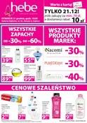 Gazetka promocyjna Hebe - Gazetka promocyjna - Dębica - ważna do 24-12-2018
