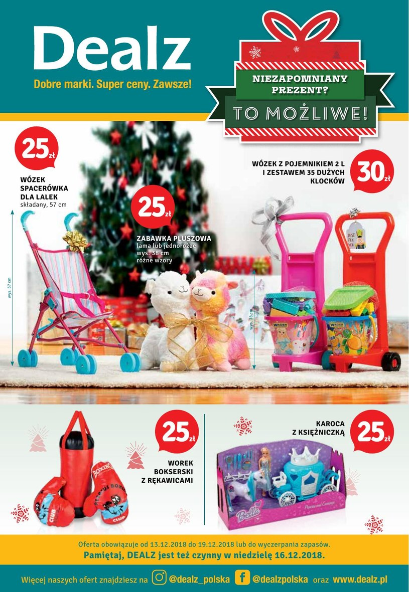 Dealz: 3 gazetki