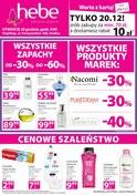 Gazetka promocyjna Hebe - Gazetka promocyjna - Siedlce - ważna do 23-12-2018