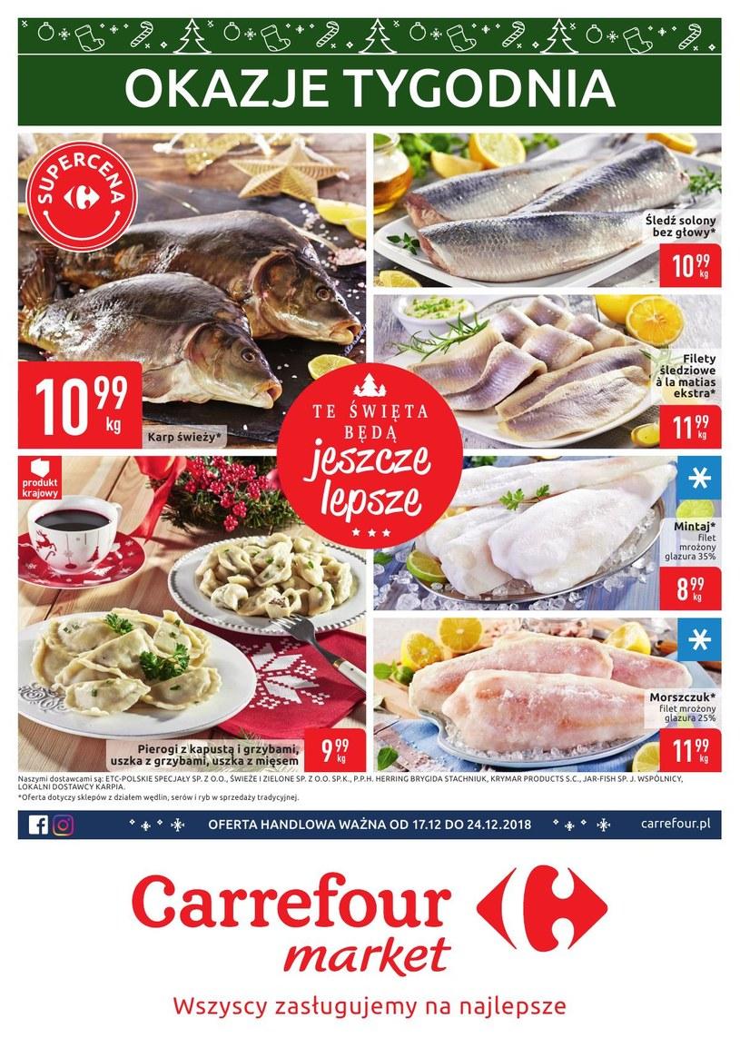 Carrefour Market: 3 gazetki
