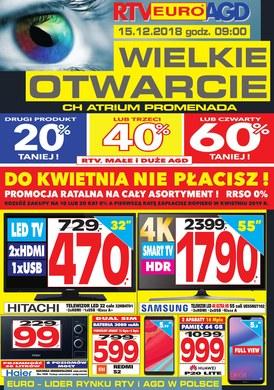 Gazetka promocyjna RTV EURO AGD - Wielkie otwarcie - Warszawa