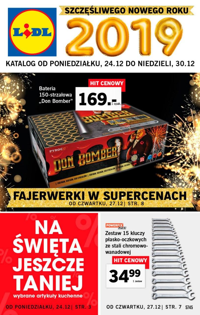 Gazetka promocyjna Lidl - ważna od 24. 12. 2018 do 30. 12. 2018