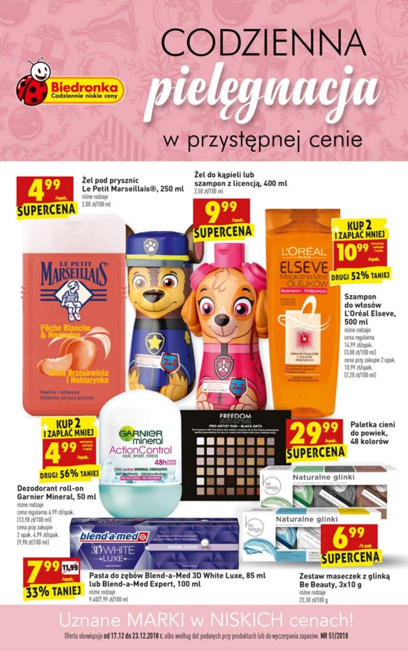 Gazetka promocyjna Biedronka - ważna od 17. 12. 2018 do 23. 12. 2018