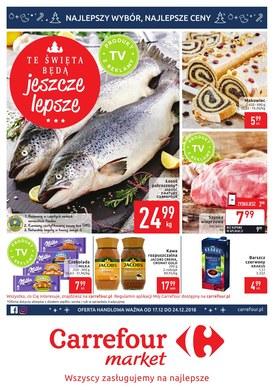 Gazetka promocyjna Carrefour Market - Te święta będą jeszcze lepsze