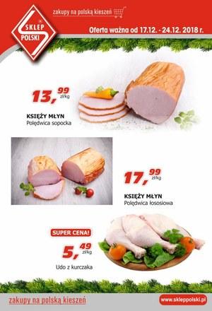 Gazetka promocyjna Sklep Polski, ważna od 17.12.2018 do 24.12.2018.
