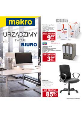 Gazetka promocyjna Makro Cash&Carry - Urządzamy Twoje biuro