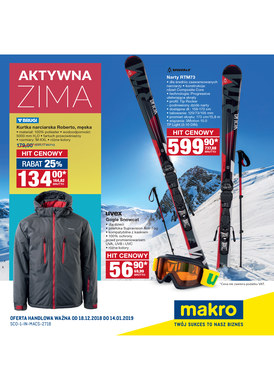 Gazetka promocyjna Makro Cash&Carry - Aktywna zima