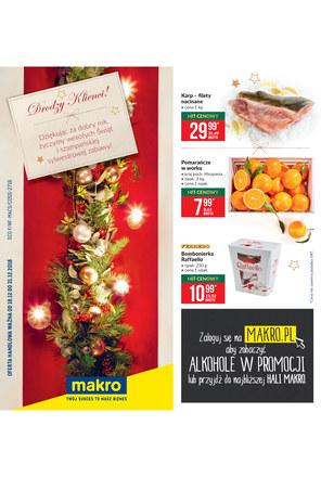 Gazetka promocyjna Makro Cash&Carry, ważna od 18.12.2018 do 31.12.2018.