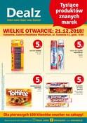 Gazetka promocyjna Dealz - Wielkie otwarcie - Katowice  - ważna do 27-12-2018