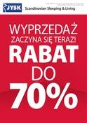 Gazetka promocyjna Jysk - Wyprzedaż zaczyna się teraz! - ważna do 09-01-2019