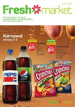 Gazetka promocyjna Freshmarket, ważna od 27.12.2018 do 08.01.2019.