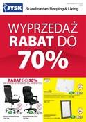 Gazetka promocyjna Jysk - Wyprzedaż rabat do 70% - ważna do 16-01-2019