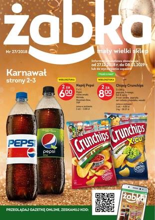 Gazetka promocyjna Żabka, ważna od 27.12.2018 do 08.01.2019.