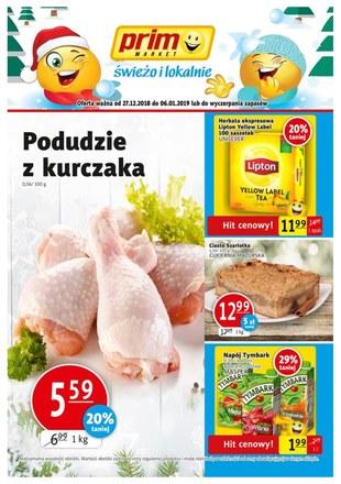 Gazetka promocyjna Prim Market, ważna od 27.12.2018 do 06.01.2019.