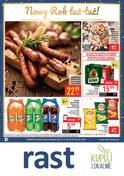 Gazetka promocyjna Rast - Nowy Rok tuż-tuż - ważna do 05-01-2019