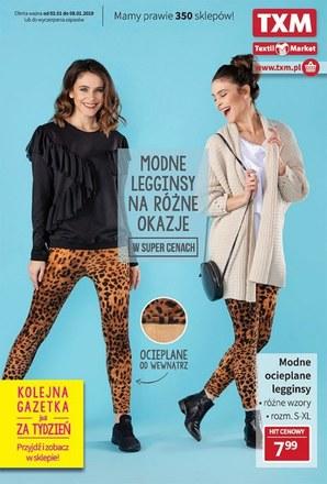 Gazetka promocyjna Textil Market, ważna od 02.01.2019 do 08.01.2019.