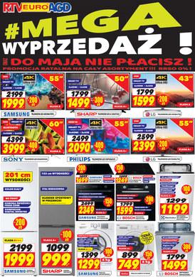 Gazetka promocyjna RTV EURO AGD - Mega wyprzedaż