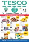 Gazetka promocyjna Tesco Hipermarket - Pokochasz Fred & Flo - ważna do 09-01-2019