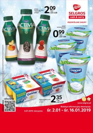 Gazetka promocyjna Selgros Cash&Carry, ważna od 02.01.2019 do 16.01.2019.